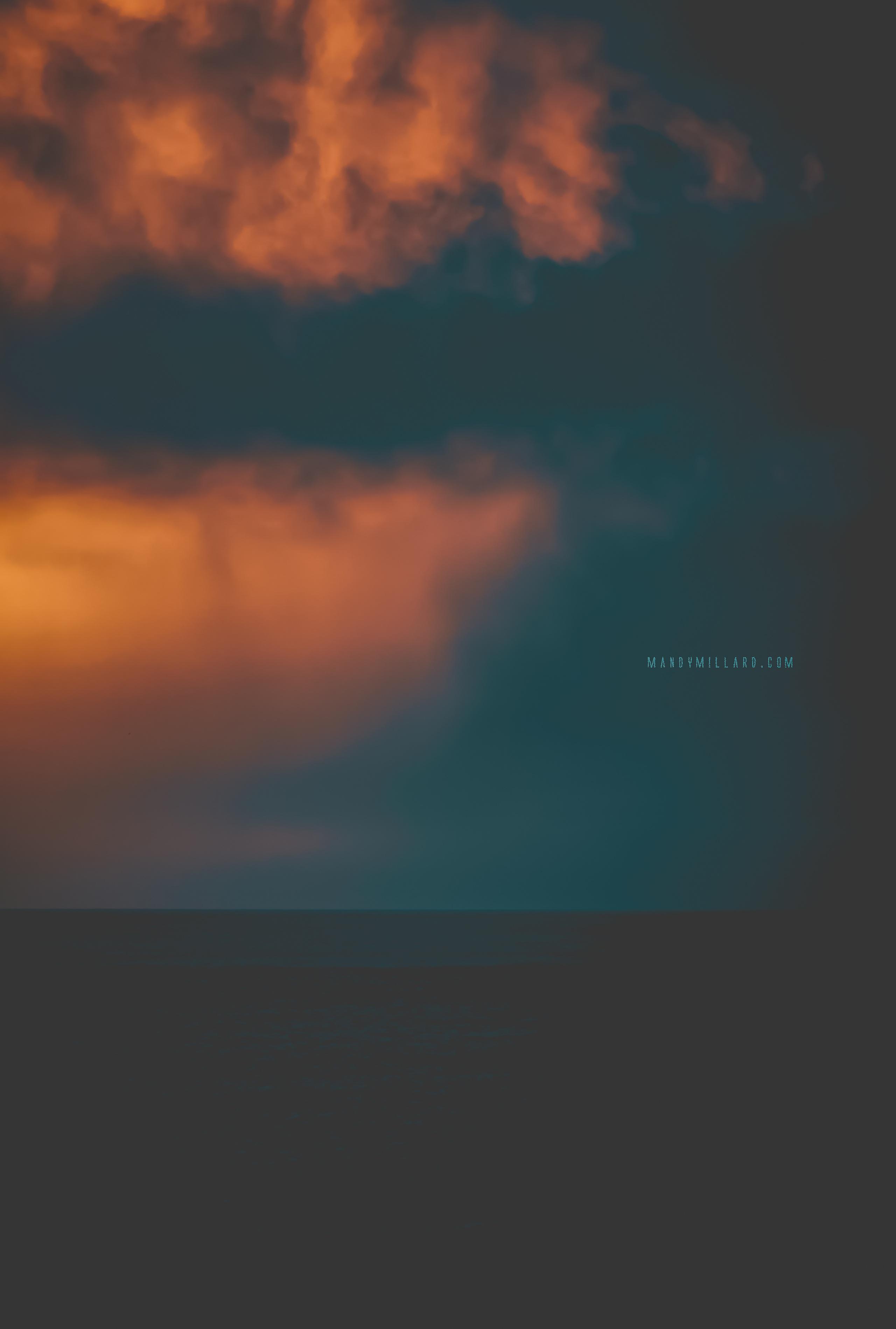 Fine-art seascape photographic print