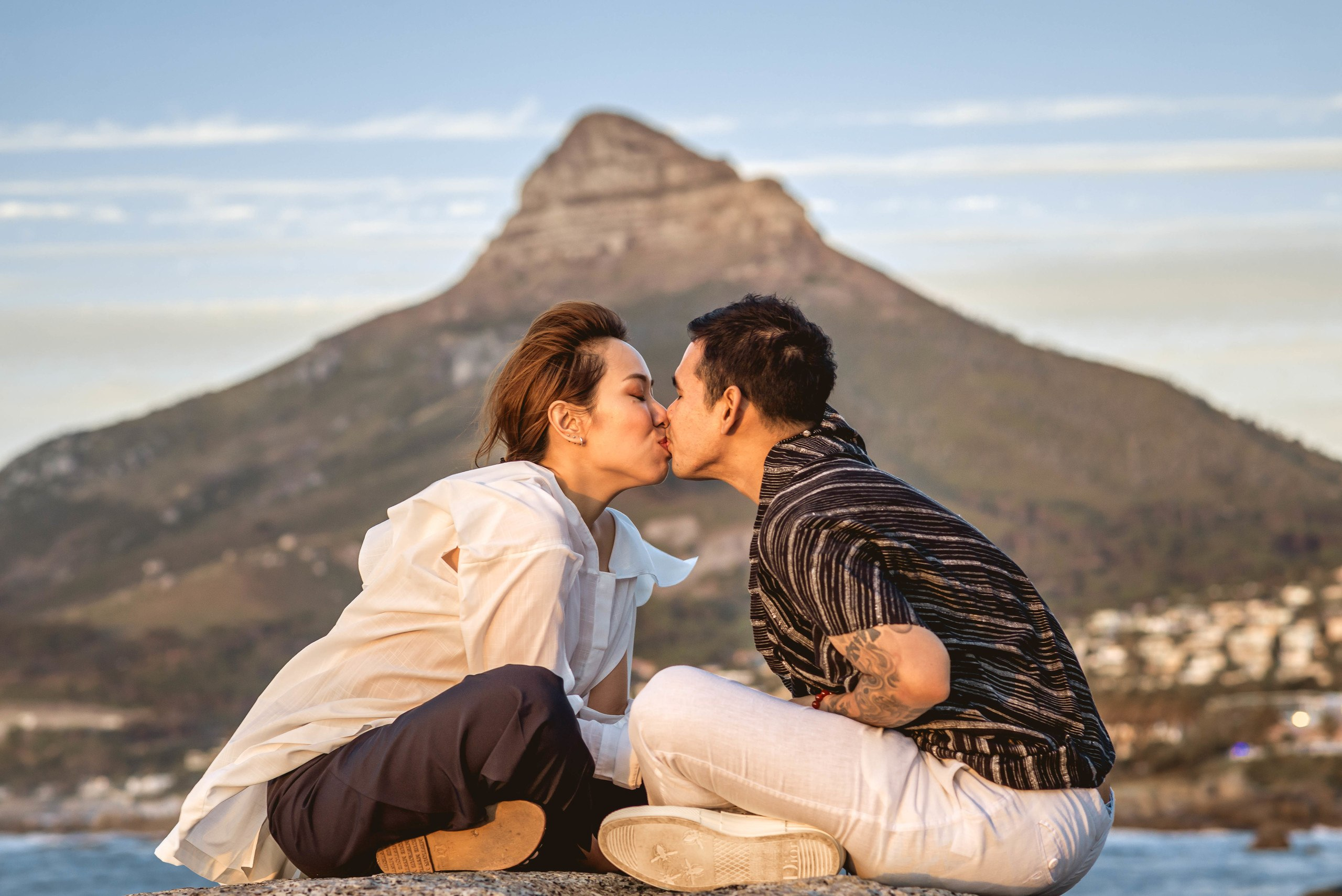 Cape Town couple Honeymoon Vacation photo shoot